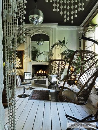 10 Rooms La Rock Chic Glam Moody Decor